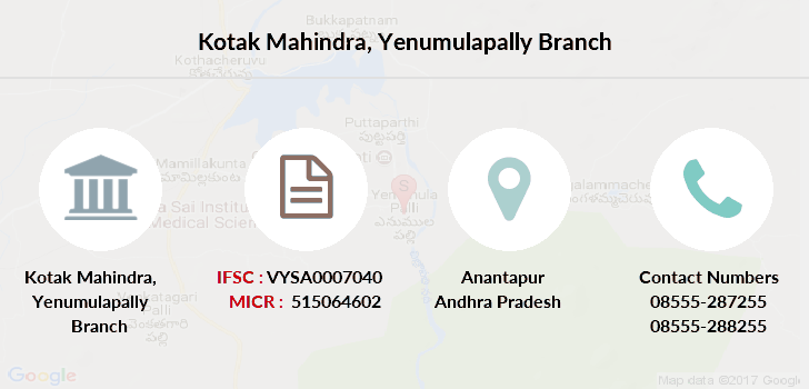 Kotak-mahindra-bank Yenumulapally branch