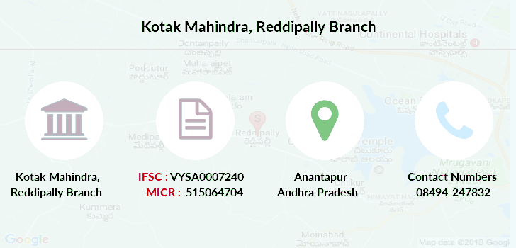 Kotak-mahindra-bank Reddipally branch