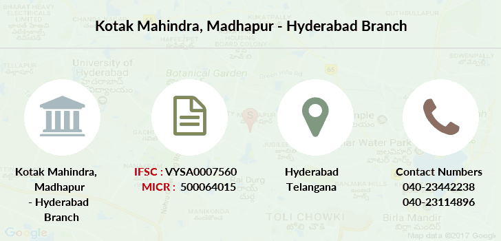 Kotak-mahindra-bank Madhapur-hyderabad branch