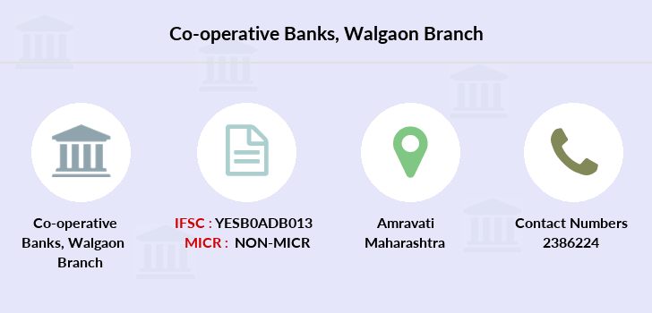 Co-operative-banks Walgaon branch