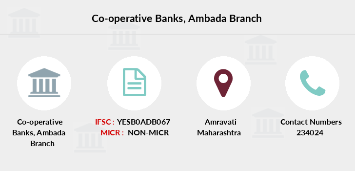 Co-operative-banks Ambada branch