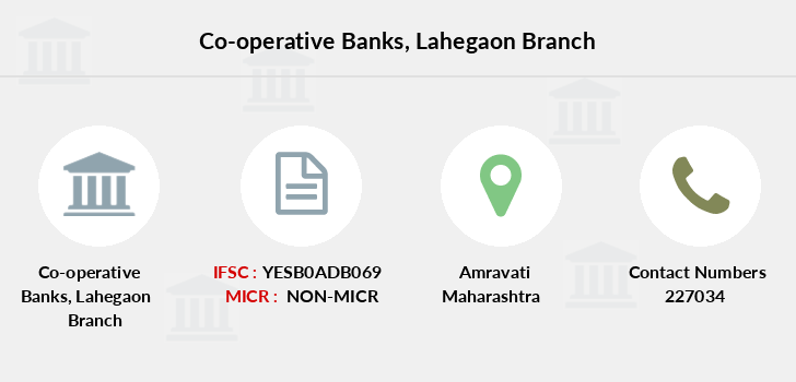 Co-operative-banks Lahegaon branch