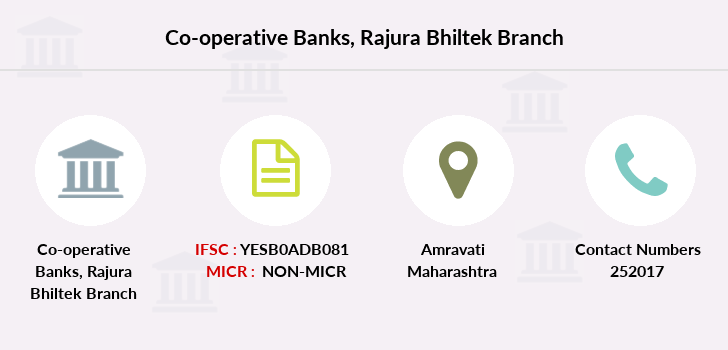 Co-operative-banks Rajura-bhiltek branch