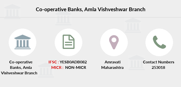 Co-operative-banks Amla-vishveshwar branch