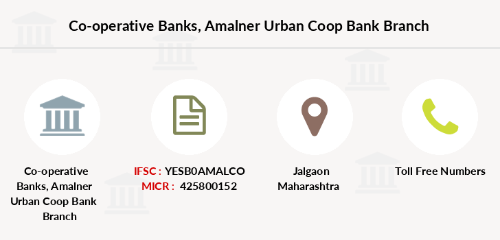Co-operative-banks Amalner-urban-coop-bank branch