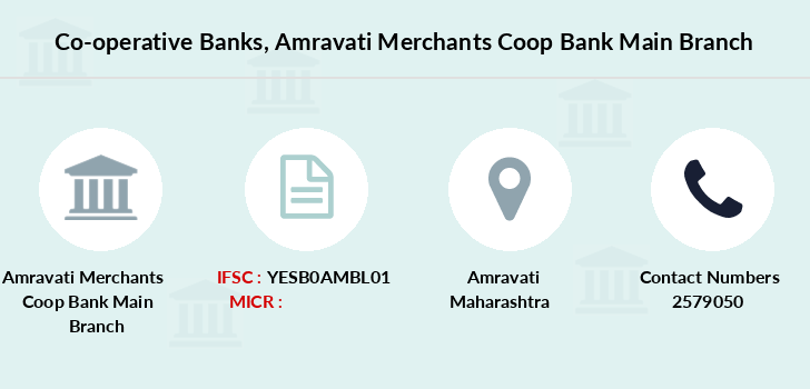 Co-operative-banks Amravati-merchants-coop-bank-main branch