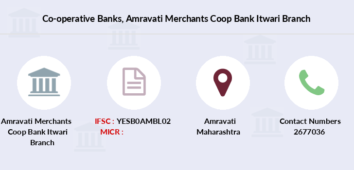 Co-operative-banks Amravati-merchants-coop-bank-itwari branch