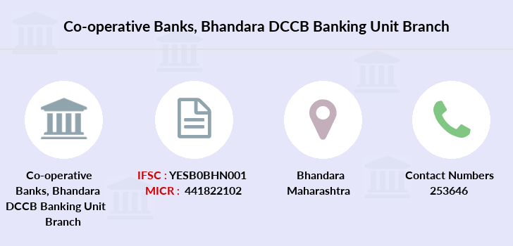 Co-operative-banks Bhandara-dccb-banking-unit branch