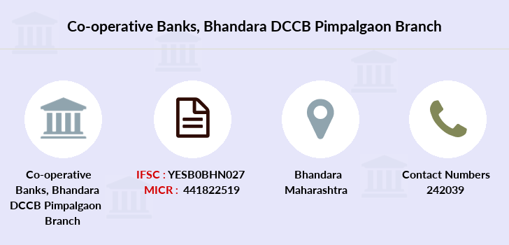Co-operative-banks Bhandara-dccb-pimpalgaon branch