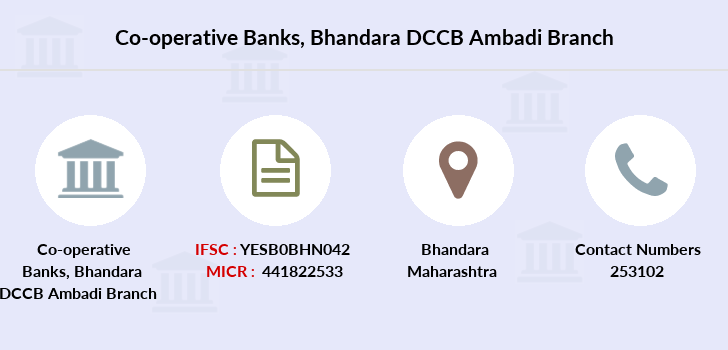 Co-operative-banks Bhandara-dccb-ambadi branch