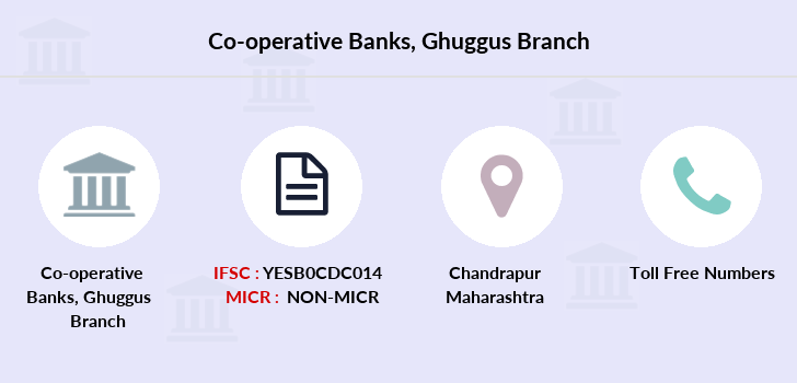 Co-operative-banks The-chandrapur-dcc-bank-ghuggus branch