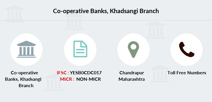 Co-operative-banks The-chandrapur-dcc-bank-khadsangi branch