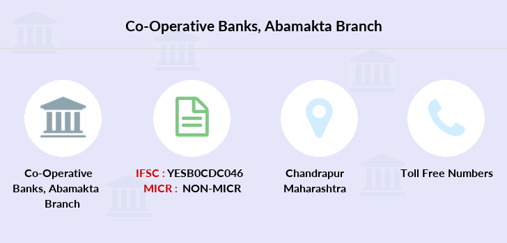 Co-operative-banks The-chandrapur-dcc-bank-abamakta branch