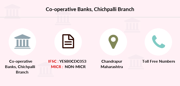 Co-operative-banks The-chandrapur-dcc-bank-chichpalli branch