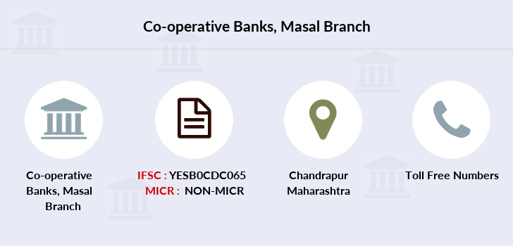 Co-operative-banks The-chandrapur-dcc-bank-masal branch