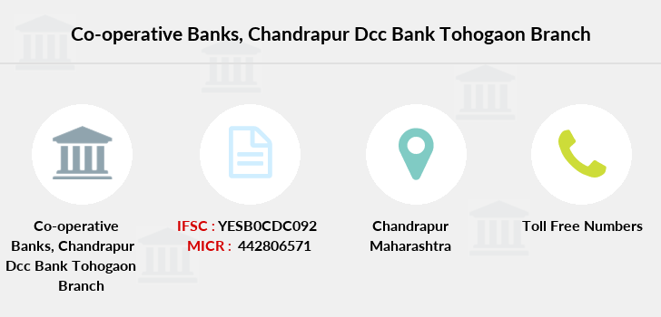 Co-operative-banks Chandrapur-dcc-bank-tohogaon branch