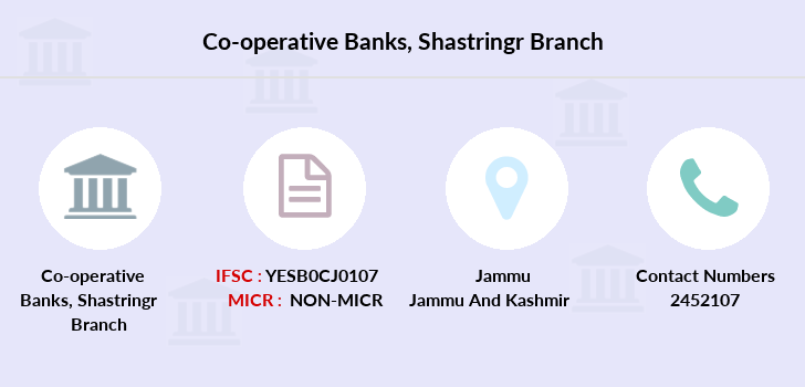 Co-operative-banks Jammu-shastringr branch