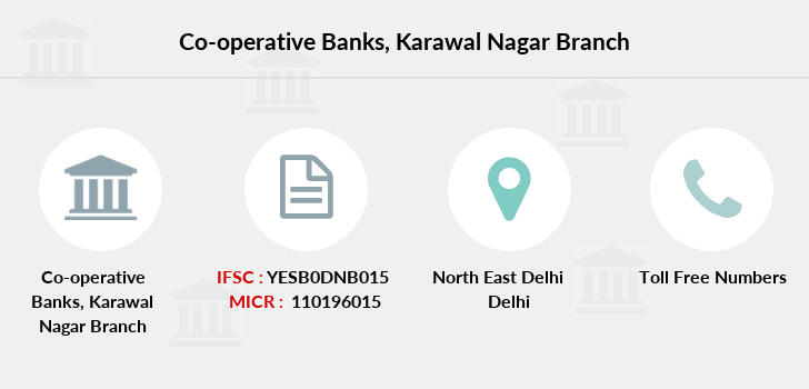 Co-operative-banks Karawal-nagar branch