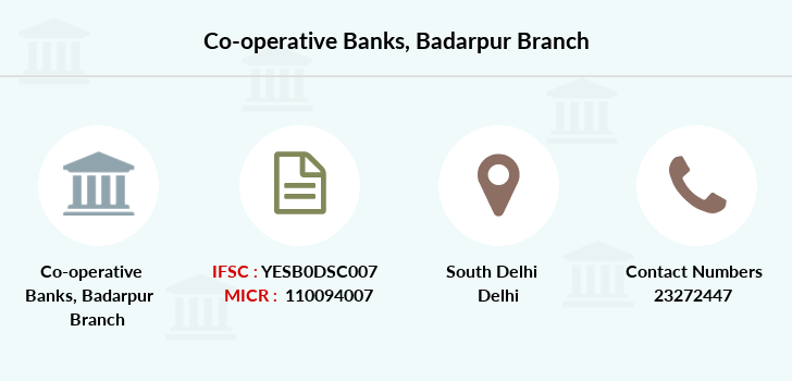 Co-operative-banks Badarpur branch