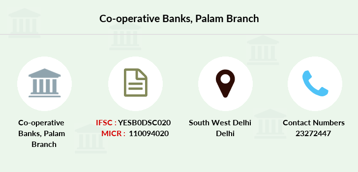 Co-operative-banks Palam branch