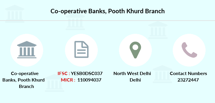 Co-operative-banks Pooth-khurd branch