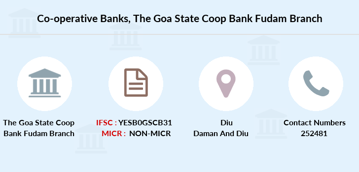 Co-operative-banks The-goa-state-coop-bank-fudam branch