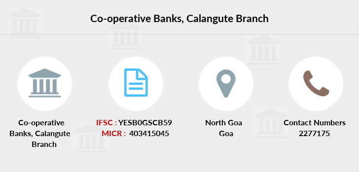 Co-operative-banks Calangute branch