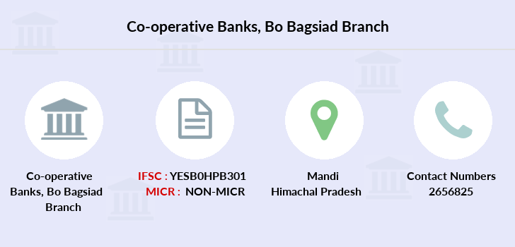 Co-operative-banks Bo-bagsiad branch