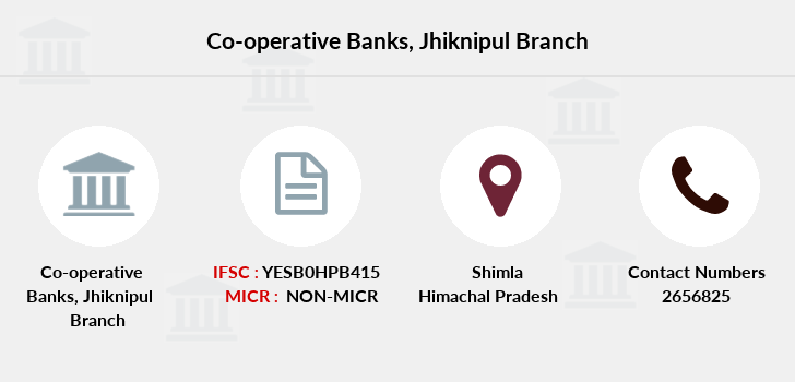 Co-operative-banks Jhiknipul branch