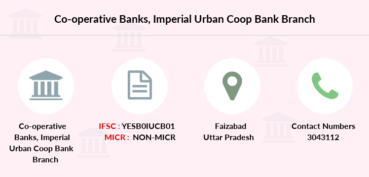 Co-operative-banks Imperial-urban-coop-bank-faizabad branch