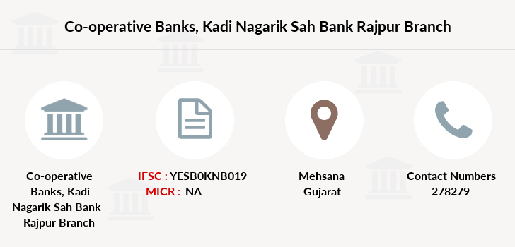 Co-operative-banks Kadi-nagarik-sah-bank-rajpur branch