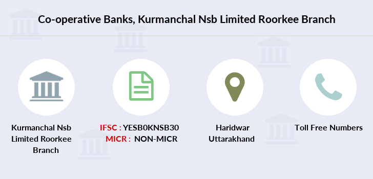 Co-operative-banks Kurmanchal-nsb-limited-roorkee branch