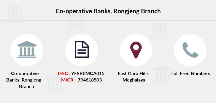 Co-operative-banks Rongjeng branch