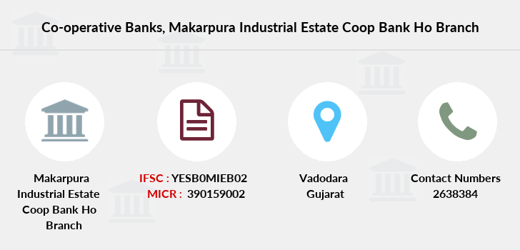 Co-operative-banks Makarpura-industrial-estate-coop-bank-ho branch