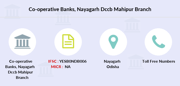 Co-operative-banks Nayagarh-dccb-mahipur branch