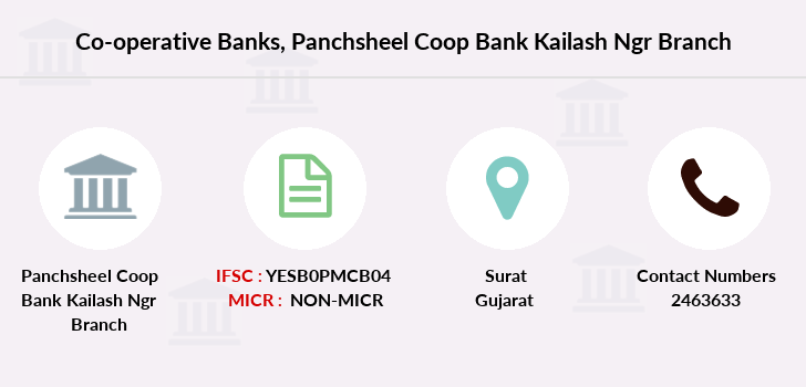 Co-operative-banks Panchsheel-coop-bank-kailash-ngr branch