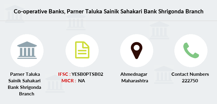 Co-operative-banks Parner-taluka-sainik-sahakari-bank-shrigonda branch