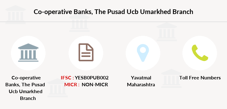 Co-operative-banks The-pusad-ucb-umarkhed branch