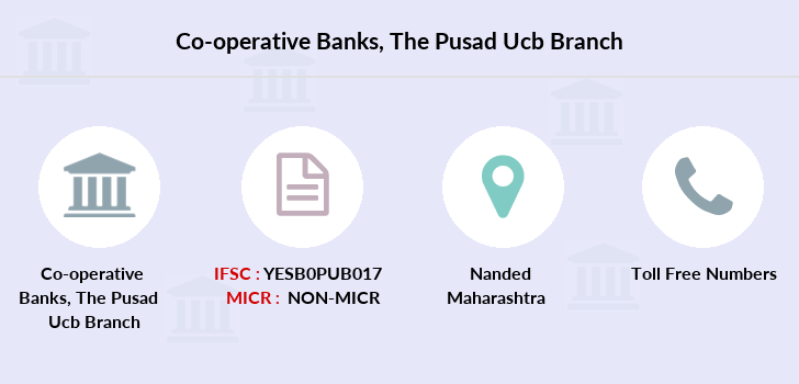 Co-operative-banks The-pusad-ucb-nanded branch