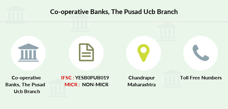 Co-operative-banks The-pusad-ucb-chandrapur branch