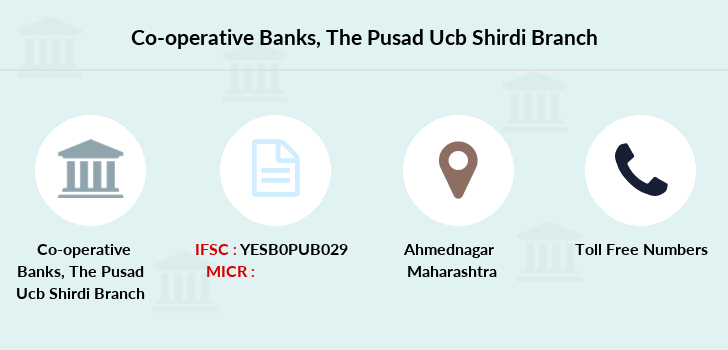 Co-operative-banks The-pusad-ucb-shirdi branch