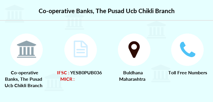 Co-operative-banks The-pusad-ucb-chikli branch