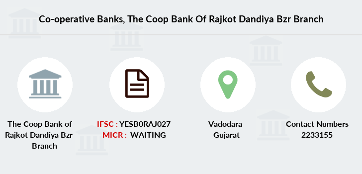Co-operative-banks The-coop-bank-of-rajkot-dandiya-bzr branch