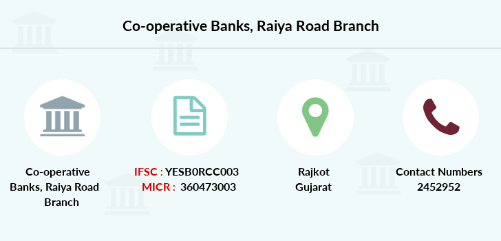 Co-operative-banks Raiya-road branch