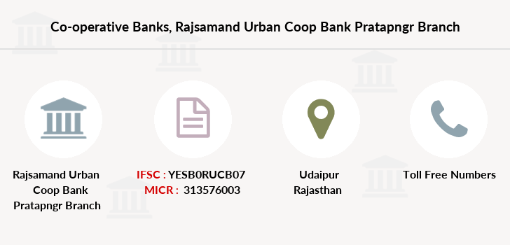 Co-operative-banks Rajsamand-urban-coop-bank-pratapngr branch