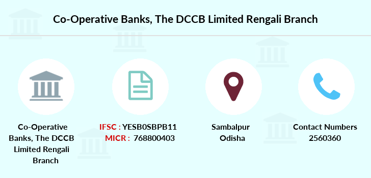 Co-operative-banks The-dccb-limited-rengali branch