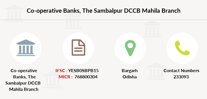 Co-operative-banks The-sambalpur-dccb-mahila branch