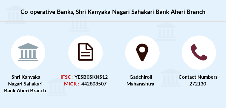 Co-operative-banks Shri-kanyaka-nagari-sahakari-bank-aheri branch