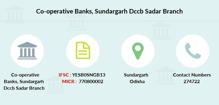 Co-operative-banks Sundargarh-dccb-sadar branch