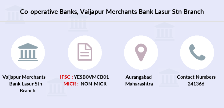 Co-operative-banks Vaijapur-merchants-bank-lasur-stn branch
